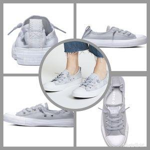 NIB Converse Shoreline slip-on shoes Wolf Grey